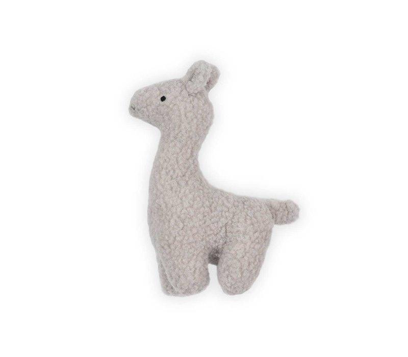Jollein Knuffel Lama grey