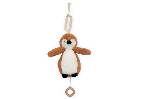 Jollein Jollein Muziekhanger Pinguin caramel