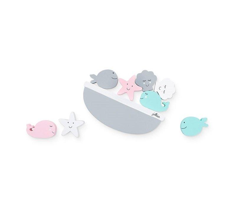 Jollein Balans spel Sea animals