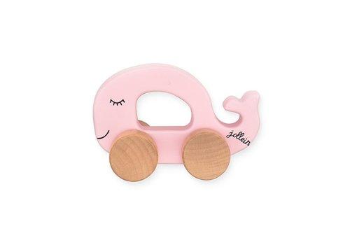 Jollein Jollein Speelgoedauto Sea animal pink