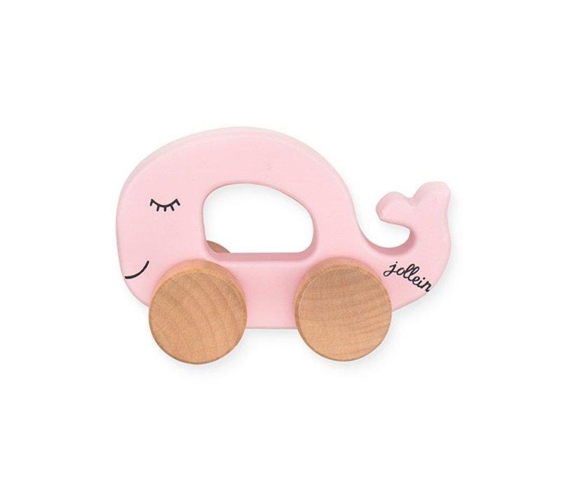 Jollein Speelgoedauto Sea animal pink