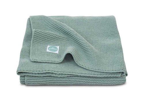 Jollein Jollein Deken 75x100cm Basic knit forest green