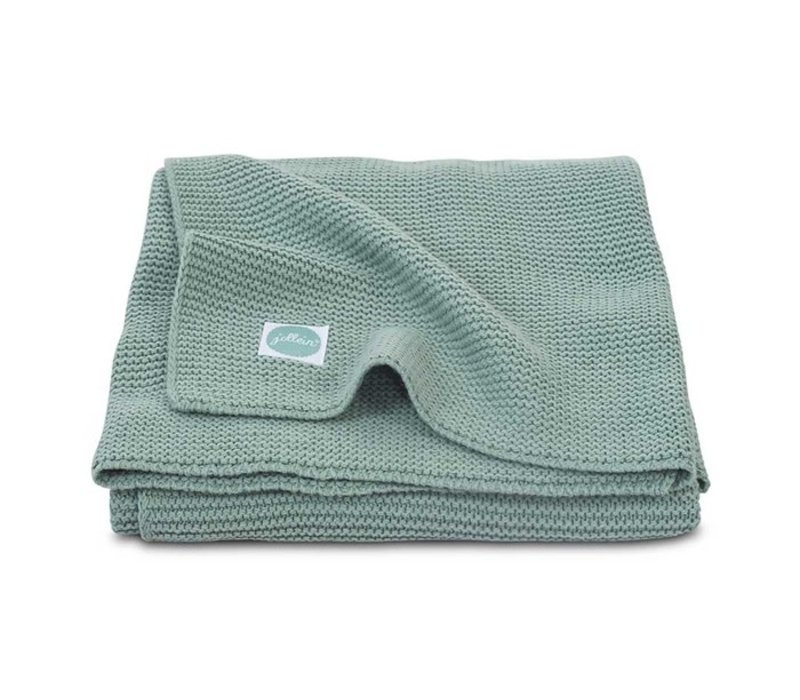 Jollein Deken 75x100cm Basic knit forest green
