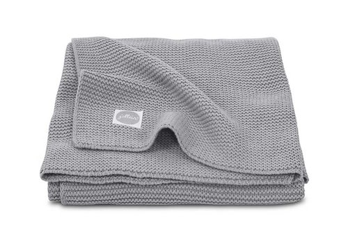 Jollein Jollein Deken 75x100cm Basic knit stone grey
