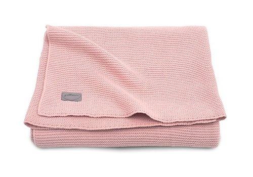 Jollein Jollein Deken 75x100cm Basic knit blush pink