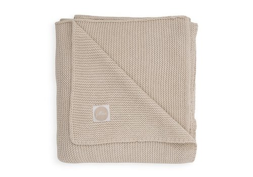 Jollein Jollein Deken 75x100cm Basic knit nougat