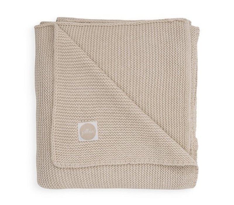 Jollein Deken 75x100cm Basic knit nougat