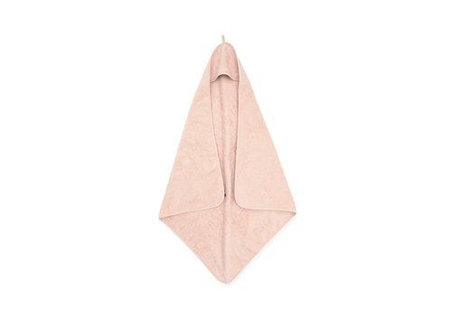 Jollein Jollein Badcape badstof 75x75cm pale pink