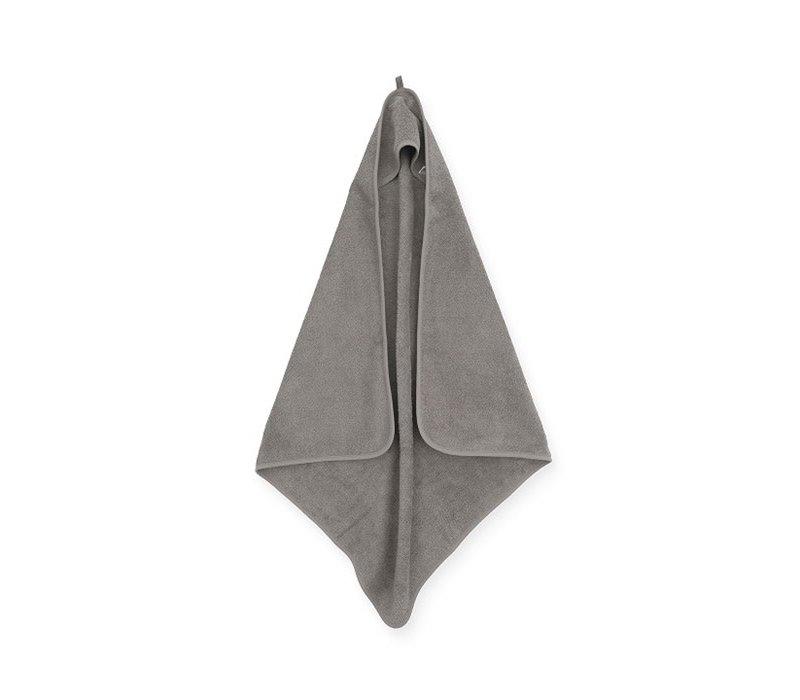 Jollein Badcape badstof 75x75cm storm grey