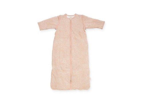 Jollein Jollein Baby slaapzak Snake pale pink met afritsbare mouw