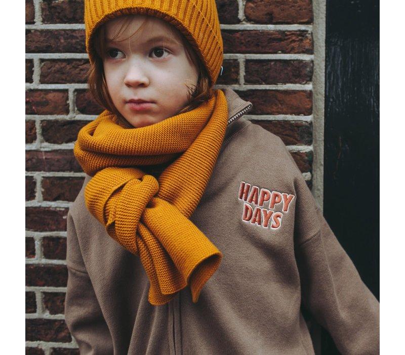 CarlijnQ Beanie (knit) - pumpkin