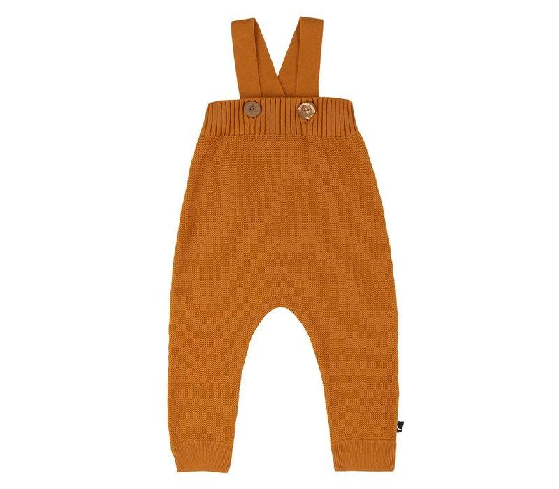 CarlijnQ Basics knit - salopette - pumpkin
