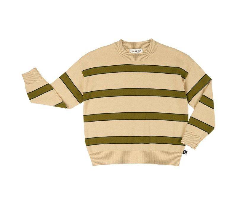 CarlijnQ Basics knit - sweater stripes
