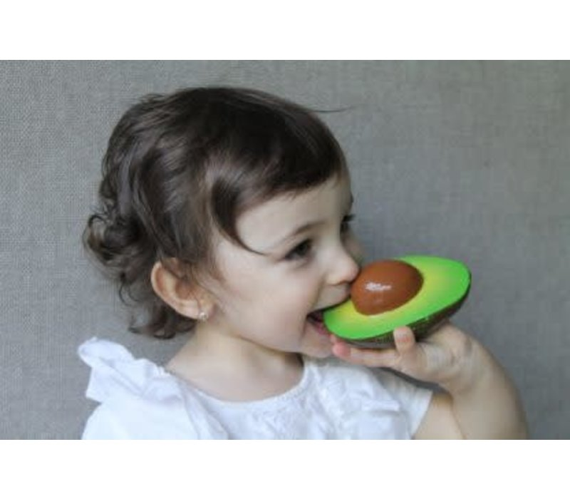 Oli & Carol bijtspeeltje Avocado
