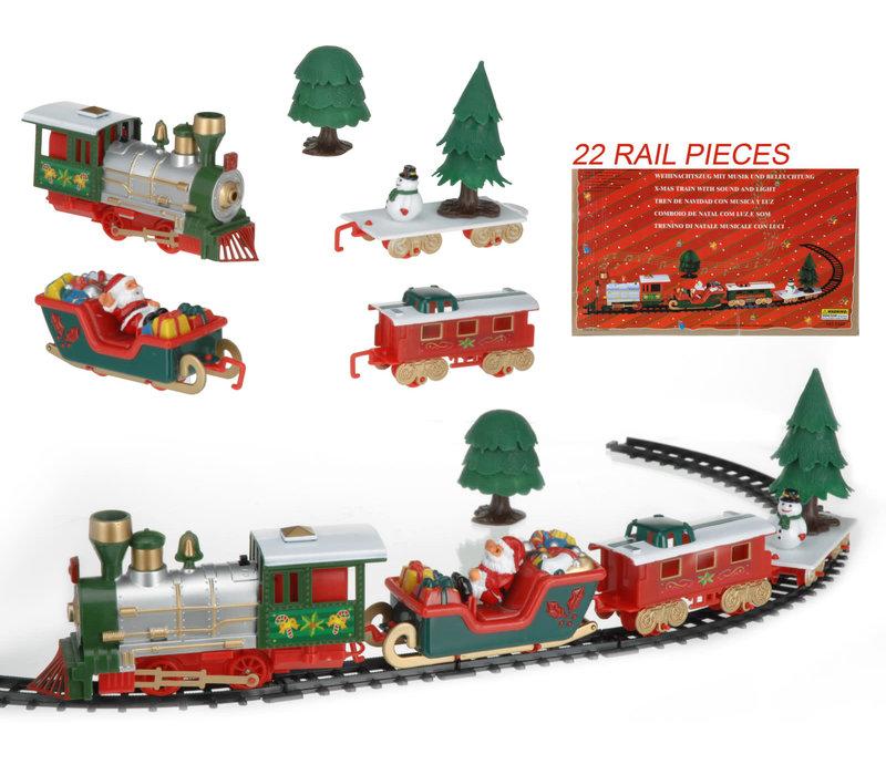 Kerst treinset