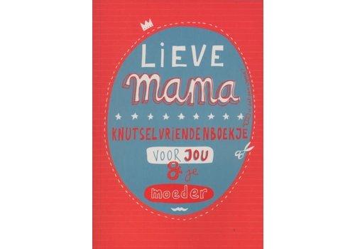 Uitgeverij Snor Lieve mama knutselboekje voor jou &  je moeder
