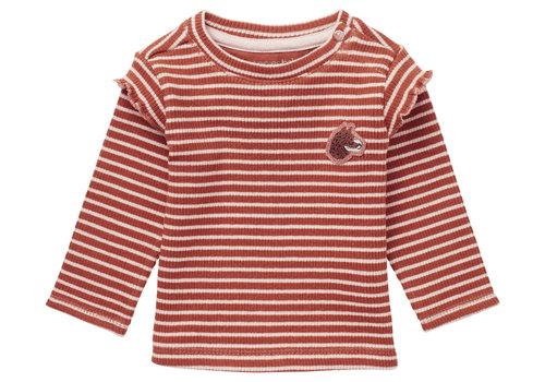 Noppies Noppies G Regular T-Shirt LS Pongola Y/D Str Rust