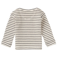 Noppies U T-Shirt LS Lothair Str RAS1202 Oatmeal