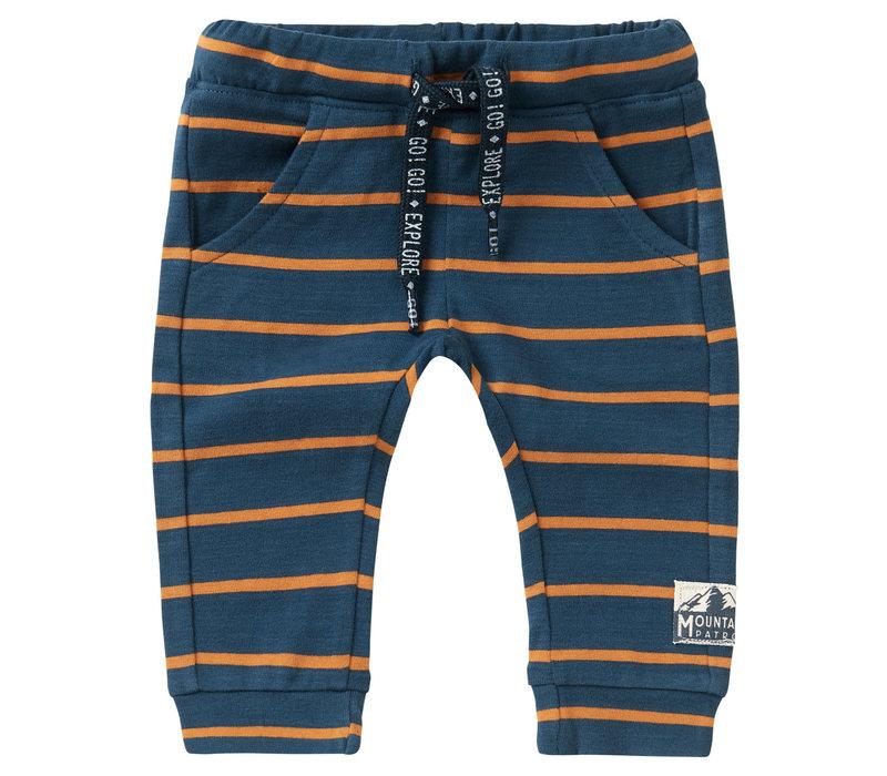 Noppies B Slim fit Pants Klawer Str Midnight Navy