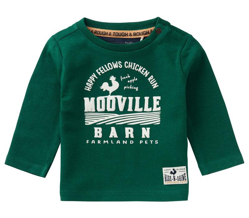 Noppies B T-Shirt LS Swellendam Farm Green