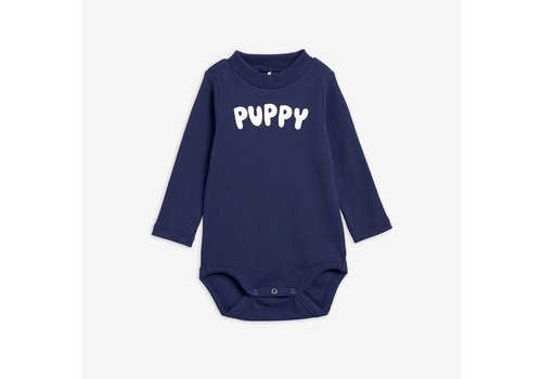 Mini Rodini Mini Rodini PUPPY LONG SLEEVE BODY