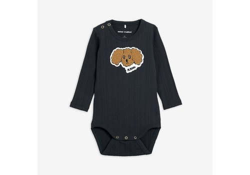 Mini Rodini Mini Rodini FLUFFY DOG PATCH BODY