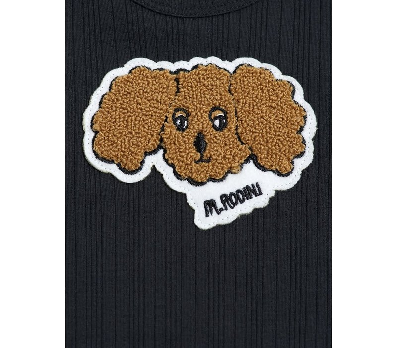 Mini Rodini FLUFFY DOG PATCH BODY
