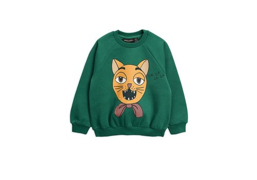 Mini Rodini Mini rodini CAT CHOIR SP SWEATSHIRT 92/98