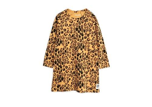 Mini Rodini Mini Rodini BASIC LEOPARD LONG SLEEVE DRESS
