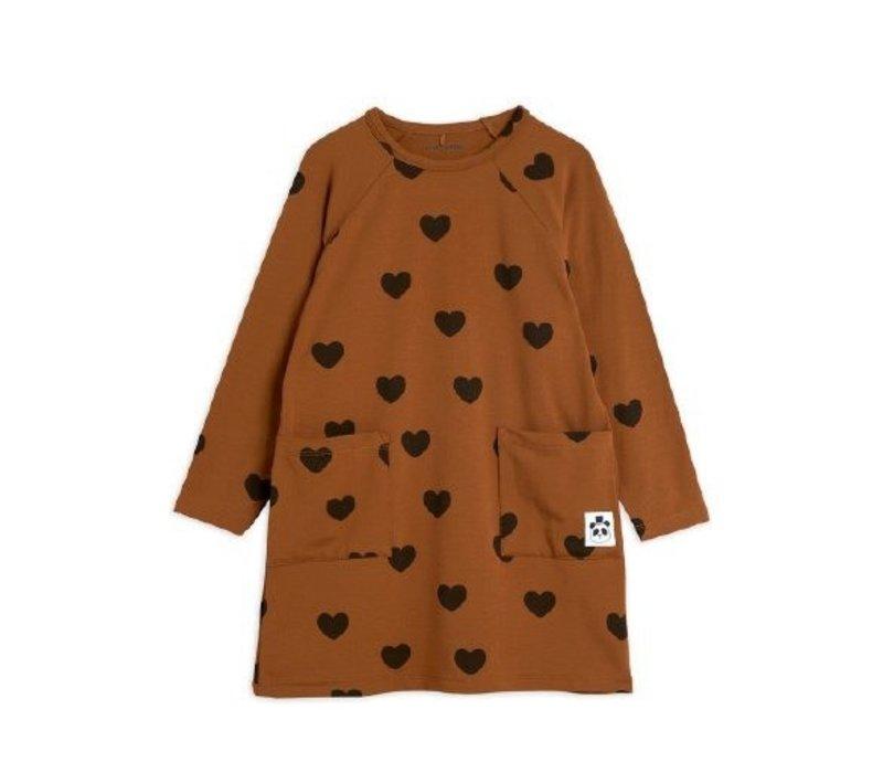 Mini Rodini BASIC HEARTS DRESS