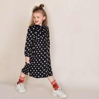 Sproet & SproutMidi Dress Polka DotsBlack