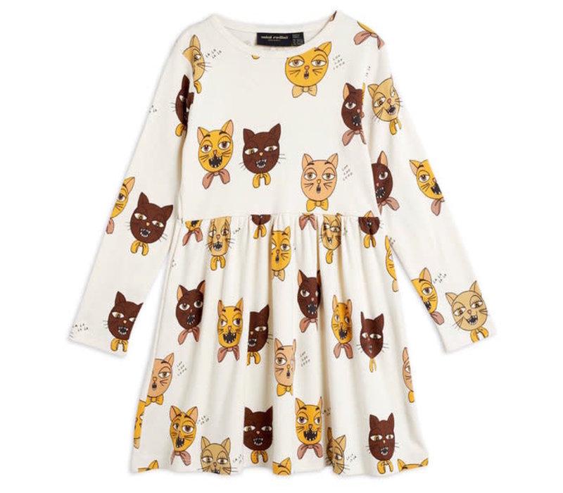Mini Rodini Cat Choir AOP LS Dress