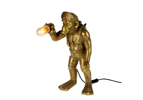 Holy Cow Staande Monkey Lamp Diver