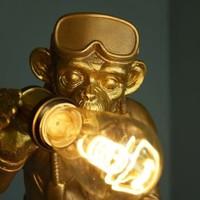 Staande Monkey Lamp Diver