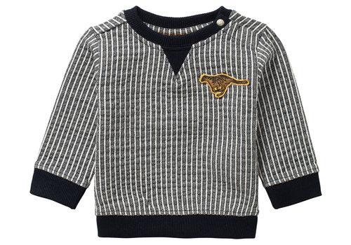 Noppies Noppies B y/d stripe Sweater Toft YD Str Dark Sapphire