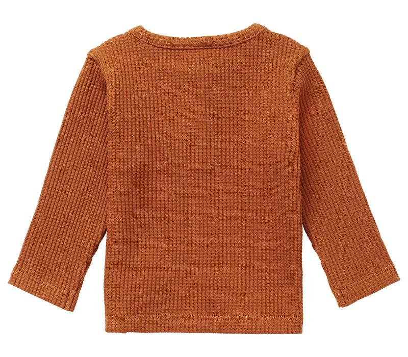 Noppies U T-shirt LS Spilsby Roasted Pecan