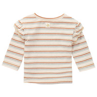 Noppies G T-shirt LS Mercier YD Str RAS1202 Oatmeal