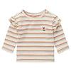 Noppies Noppies G T-shirt LS Mercier YD Str RAS1202 Oatmeal