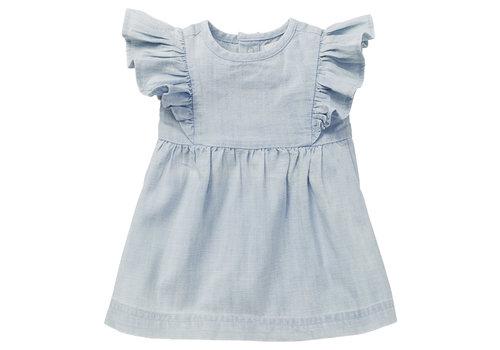 Noppies Noppies G Dress SS Magog Light Blue Denim