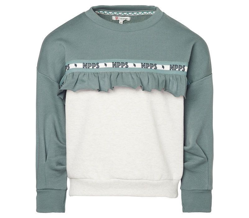Noppies G Sweater Lilachill Silver Pine