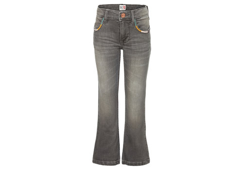 Noppies Noppies G Flared fit 5-pocket pants Lettastreet Ash Grey