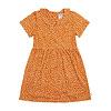 CarlijnQ CarlijnQ Golden Sparkles - collar dress short sleeves