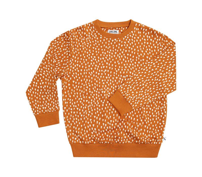 CarlijnQ Golden Sparkles - sweater