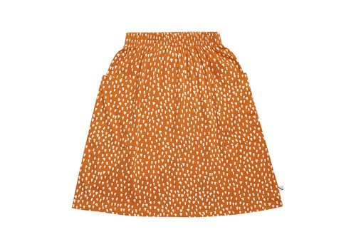 CarlijnQ CarlijnQ Golden Sparkles - skirt with pockets