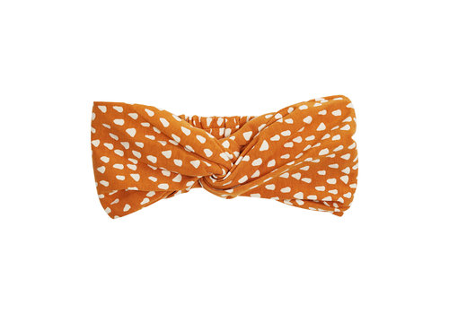 CarlijnQ CarlijnQ Golden Sparkles - twisted headband