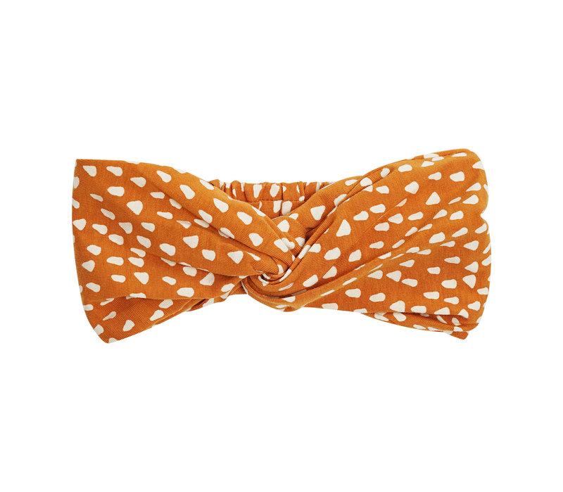 CarlijnQ Golden Sparkles - twisted headband
