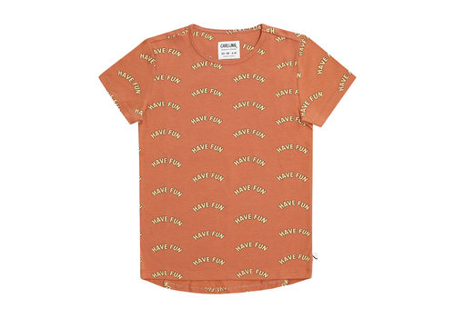 CarlijnQ CarlijnQ Have fun - short sleeve dropback