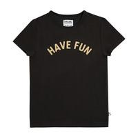 CarlijnQ Have fun - t-shirt with print black