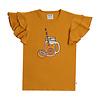 CarlijnQ CarlijnQ Lemonade - ruffled t-shirt with print