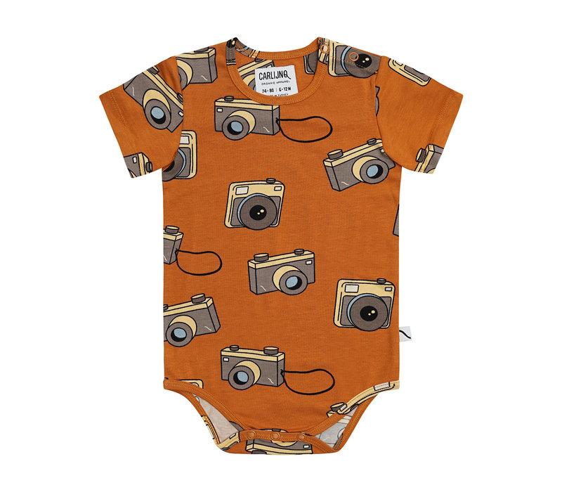 CarlijnQ Photo Camera - bodysuit short sleeve